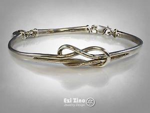 【送料無料】ブレスレット アクセサリ― ソリッドスターリングシルバーハンドメイドブレスレットfriendship ties solid sterling silver 925 handmade bracelet by ezi zino