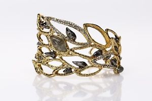 【送料無料】ブレスレット アクセサリ― alexisbittarスワロフスキーカフスブレスレット135182alexis bittar goldswarovski crystal cuff bracelet 135182