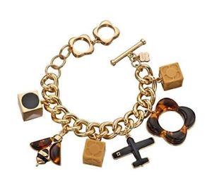 【送料無料】ブレスレット アクセサリ― ブレスレットorla kiely bee and plane charms bracelet of length 225cm