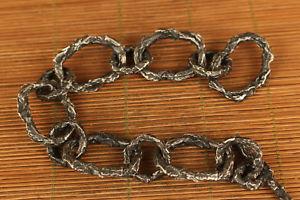 【送料無料】ブレスレット アクセサリ― シルバーハンドヘルクールブレスレット100 old fine 925 silver hand carved hell cool bracelet