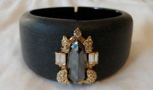 【送料無料】ブレスレット アクセサリ― ヘマタイトブレスレットalexis bittar hematite and crystal bracelet
