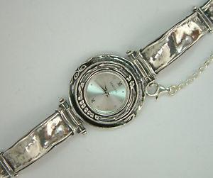 【送料無料】ブレスレット アクセサリ― イスラエルスターリングシルバーブレスレットw00664 shablool israel didae handcrafted sterling silver 925 bracelet watch