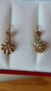 【送料無料】ブレスレット アクセサリ― イアリング218 k750ミルpromo earrings studs gold 2 tones 18 k750mil