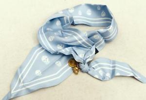 【送料無料】ブレスレット アクセサリ― アレキサンダーマックイーンスカルスカーフブレスレットalexander mcqueen skull scarf bracelet  perfect gift