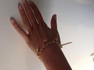 【送料無料】ブレスレット アクセサリ― スワロフスキーブレスレットswarovski charmed bracelet 1051173 with 5 dangling charms discontinued