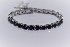 【送料無料】ブレスレット アクセサリ― スターリングシルバーアメジストブレスレットオンライン925 sterling silver natural gemstone amethyst bracelet online gift jewelry