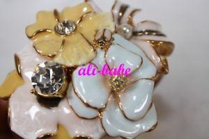 【送料無料】ブレスレット アクセサリ― ケネスジェイレーンラインストーンブレスレットkenneth jay lane floral rhinestone bracelet