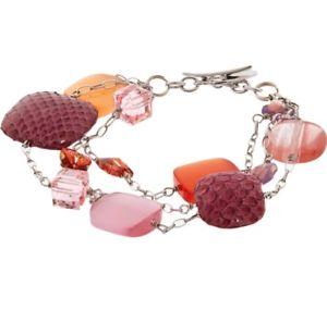 【送料無料】ブレスレット アクセサリ― スターリングシルバービーズブレスレットtateossian sterling silver beaded bracelet