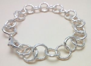 【送料無料】ブレスレット アクセサリ― スターリングシルバーハンドメイドブレスレットbracelet in sterling silver 925 handmade b110