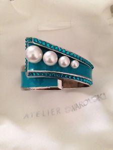 【送料無料】ブレスレット アクセサリ― genuine swarovskiアトリエカフスブレスレットカークウッドgenuine swarovski atelier cuff bracelet kirkwood