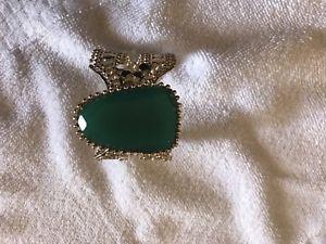 【送料無料】ブレスレット アクセサリ― ケンドラスコットabenaグリーンゴールドカフスブレスレットhtfkendra scott abena green gold cuff bracelet rare htf