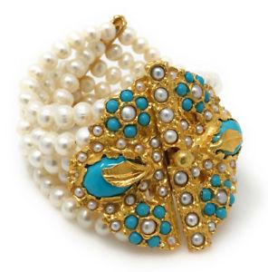 【送料無料】ブレスレット アクセサリ― ジプシーハンドメイドケシブレスレットボックスgypsy handmade freshwater pearl poppy bracelet b344box