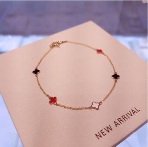 【送料無料】ブレスレット アクセサリ― kゴールドクローバーブレスレットヴァンクリーフアガサ[muzzel]14k gold fourleaves clover bracelet omjb4544van cleefjestinaagatha