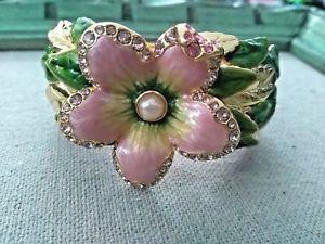 【送料無料】ブレスレット アクセサリ― jay strongwaterスプリングブレスレット msrp39900jay strongwater spring blossom bracelet gold filled msrp 39900
