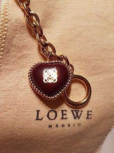 【送料無料】ブレスレット アクセサリ― ロエベシグネチャーロゴハートゴールドブレスレットローズloewe signature logo heart rose gold bracelet