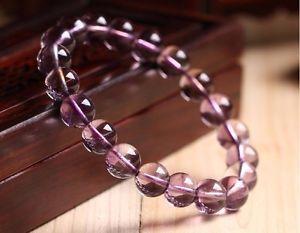 【送料無料】ブレスレット アクセサリ― 10mmaaaaaアメジストブレスレットaaaaa 10mm natural purple amethyst quartz crystal round beads stretch bracelet