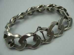 【送料無料】ブレスレット アクセサリ― イタリアスターリングシルバーデザイナーブレスレットan erre italy solid long designer bracelet in sterling silver 925