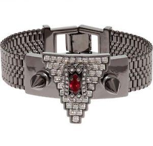 【送料無料】ブレスレット アクセサリ― mawi londonブレスレット390mawi london hematite plated studded bracelet 390