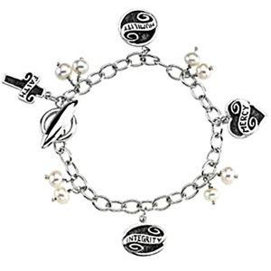 【送料無料】ブレスレット アクセサリ― スターリングライフタイムブレスレットsterling silver lifetime skills bracelet