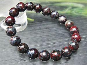 【送料無料】ブレスレット アクセサリ― ラウンドビーズブレスレット10mm rare 6a natural blue red sugilite gemstone round beads bracelet gift bl9268