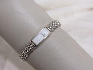 【送料無料】ブレスレット アクセサリ― デザイナーラゴスマヤキャビアロープブレスレットdesigner lagos ss 9mm maya howlite caviar rope bracelet