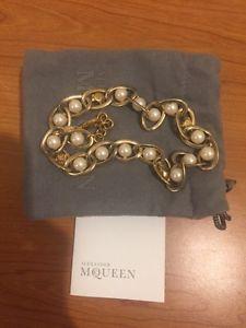 贅沢 【送料無料】ブレスレット アクセサリ― amp; アレキサンダーマックイーンパールスカルブレスレットalexander mcqueen skull brass amp; pearl skull pearl bracelet, 英田町:1d2635cd --- svapezinok.sk