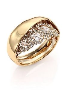 【送料無料】ブレスレット アクセサリ― クリスタルブレスレットalexis bittar crystal overlapping bracelet