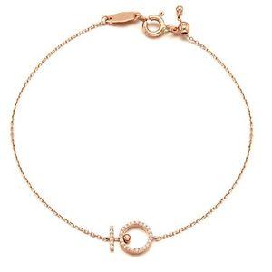 【送料無料】ブレスレット アクセサリ― ローズゴールドブレスレットシルエットstone henge t0754 rose gold 14k bracelet silhouette collect korea pretty arafeel