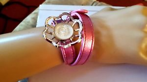 【送料無料】ブレスレット アクセサリ― ラリックブレスレットニーズlalique bracelet fits all adjustable leather with charmvery attractive