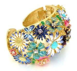 【送料無料】ブレスレット アクセサリ― ケネスジェイレーンゴールドマルチガーデンパーティーブレスレットkenneth jay lane kjl gold multi garden party bracelet