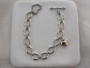 【送料無料】ブレスレット アクセサリ― デザイナーラゴススターリング18kトグルブレスレットdesigner lagos sterling silver 18k smooth heart toggle bracelet