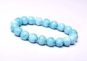 【送料無料】ブレスレット アクセサリ― 95mmbeautiful atural blue larimar gem grade waterpattern beads bracelet95mm beautiful atural blue larimar gem grade water