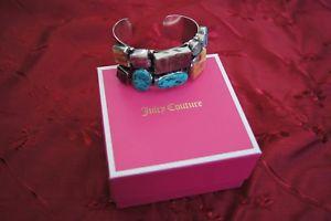 【送料無料】ブレスレット アクセサリ― シルバーカフブレスレットsam piasso sterlin silver cuff bracelet with gem stones
