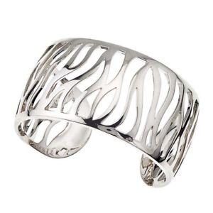【送料無料】ブレスレット アクセサリ― スターリングシルバーゼブラカフsterling silver zebra cuff