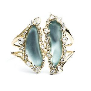 【送料無料】ブレスレット アクセサリ― アレクシスbittarジャーディンmystereブレスレットalexis bittar jardin mystre jagged crystal hinged bracelet