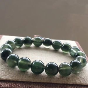 【送料無料】ブレスレット アクセサリ― ルチルブレスレット11mm aaaaanatural green rutilated quartz crystal round beads bracelet 11mm aaaaa