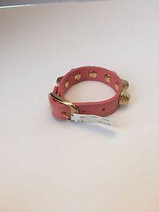 ブレスレット アクセサリ— 295ドルバレンシアガnwt12ブレスレットbalenciaga nwt giant 12 leather bracelet with studs 295