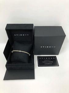 【送料無料】ブレスレット アクセサリ― ヘンリーデザインズhd100authentic stinghdブレスレットb427r100 authentic stinghd bracelet b427r pure silver by henry designs sting hd