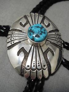 【送料無料】ブレスレット アクセサリ― ビンテージナバホトーマススターリングシルバーターコイズauthentic vintage navajo thomas singer sterling silver turquoise