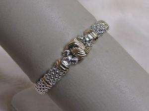 【送料無料】ブレスレット アクセサリ― デザイナーラゴスキャビアビーズノットブレスレットdesigner lagos ss 18k caviar beaded knot bracelet