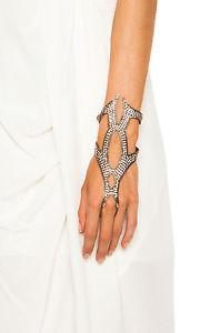 【送料無料】ブレスレット アクセサリ― マルサリスグローブリングブレスレットlionette by noa sade marsalis glove hand ring bracelet