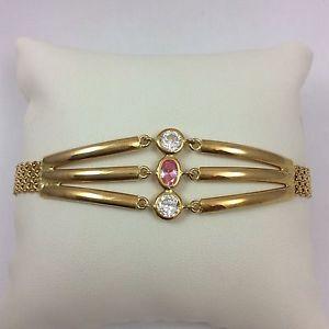 【送料無料】ブレスレット アクセサリ― イエローゴールドブレスレット18k yellow gold bracelet 8