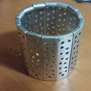 【送料無料】ブレスレット アクセサリ― トルコシルバーs0038turkish made silver plated stretchable bracelet s0038