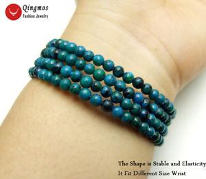 【送料無料】ブレスレット アクセサリ― スチールワイヤラップブレスレットnatural 45mm green round chrysocoll steel wire wrap bracelet for women jewelry