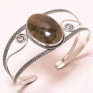 【送料無料】ブレスレット アクセサリ― デザイナーカフジュエリーブレスレットlovely labradorite designer cuff jewelry bracelet adjustable c2