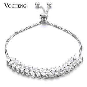 【送料無料】ブレスレット アクセサリ― ドロップストーンアジャスタブルチェーンブレスレットvocheng water drop cz stone 2 colors adjustable chain bracelet for women vg083