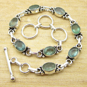 【送料無料】ブレスレット アクセサリ― ブレスレットアパタイト8 18 bracelet exclusive apatite silver plated jewelry everyday wear