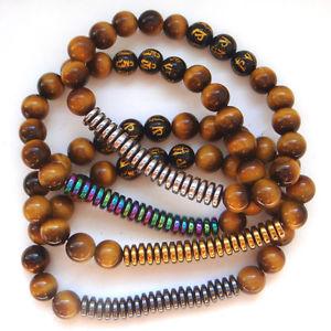 【送料無料】ブレスレット アクセサリ― ヘマタイトメノウエネルギーブレスレット2018 tiger eye stone hematite agate energy womens bracelet amulet