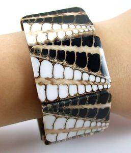 【送料無料】ブレスレット アクセサリ― コーンシェルカフストレッチブレスレットインチnatural cone shell stretch cuff bracelet 6 to 8 inch adjustable jewelry ca133