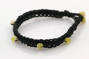 【送料無料】ブレスレット アクセサリ― ラウンドビーズバルトハンドメイドブレスレットwhite round beads genuine baltic amber handmade wowen crochet bracelet b1504302